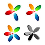 Flower icon Royalty Free Stock Photography