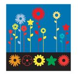 Flower icon collection for all designer all vector illustration
