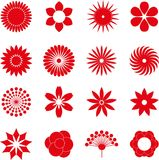 Flower icon collection,vector Stock Photo