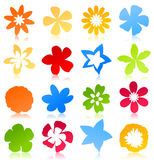 Flower icon2 Stock Photography