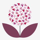 Flower  illustration Stock Images