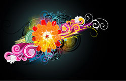 Flower illustration Royalty Free Stock Images