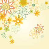 Flower illustration Royalty Free Stock Image