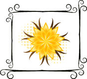 Flower illustration royalty free stock photos