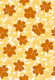 Flower illustration pattern Stock Photos