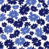 Flower illustration pattern Stock Images
