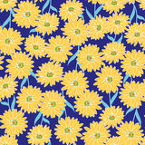 Flower illustration pattern Royalty Free Stock Photo