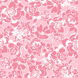 Flower illustration pattern Royalty Free Stock Photography