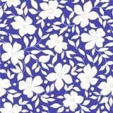 Flower illustration pattern Stock Photo