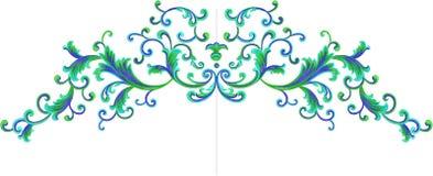 Flower Illustration pattern in simple background vector illustration
