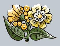 Flower illustration series Stock Photo