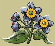 Flower illustration series Stock Photography