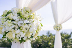 Flower In Wedding Setting Royalty Free Stock Image