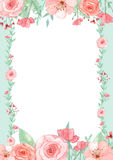Flower Invitation Card Stock Images