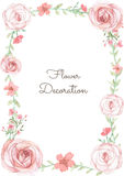 Flower Invitation Card stock illustration