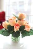 Flower in jar Stock Photos