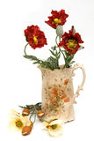 Flower jug Royalty Free Stock Photo