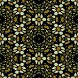 Flower kaleidoscope seamless texture. stock illustration