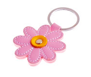 Flower Keychain Stock Photo