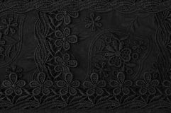 Flower lace pattern. Royalty Free Stock Photography