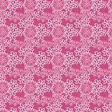 Flower lacy seamless background Royalty Free Stock Photos