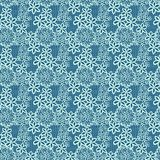 Flower lacy seamless background Stock Photography