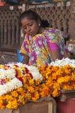 Flower Lady Royalty Free Stock Photo