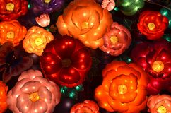Flower Lanterns Stock Image