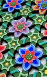 Flower Lattice Panel Royalty Free Stock Photography
