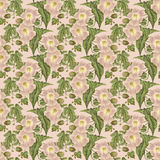 Flower and leaf background Stock Photos