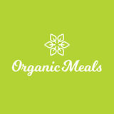 Flower Leaf Organic Meals Food Healthy Logo Stock Photography