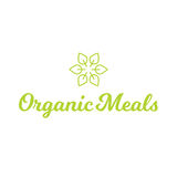 Flower Leaf Organic Meals Food Healthy Logo Royalty Free Stock Photos