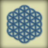 Flower of Life. Geometric mandala as a symbol of Life Royalty Free Stock Photography