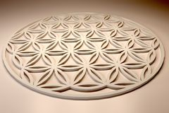 3d Flower of life Royalty Free Stock Photos