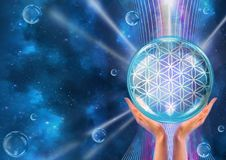 Flower of Life. The Pattern of Creation. Stock Images