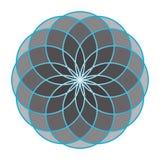Flower of Life. Sacred Geometry. Stock Photo