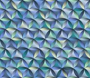 Flower of life seamless pattern blue stock images