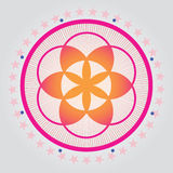 Flower of life seed Royalty Free Stock Images