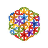 Flower of Life, sketch for your design Stock Photo