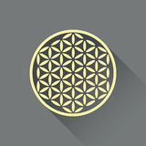 Flower of life royalty free illustration