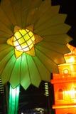 Flower of light at night Stock Photo