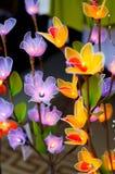 Flower lighting Stock Images