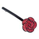 Flower-like hairclip Stock Image