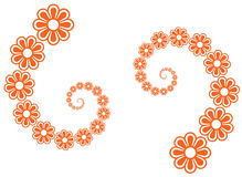 Flower line art vector illustration