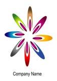 Flower logo Stock Photos