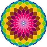 Flower logo Royalty Free Stock Image