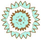 Flower Logo. Illustrated isolated flower logo stock illustration