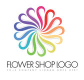 Flower Logo Stock Image