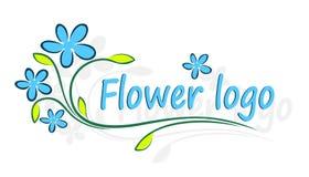 Flower Logo. Royalty Free Stock Photo