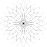 Flower  lotus silhouette for design. Vector Stock Images